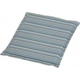 Stern Universal Sitzkissen für Stapelsessel Dessin Streifen aqua 44 x 44 x 2 cm