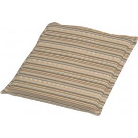 Stern Universal Sitzkissen für Stapelsessel Dessin Streifen taupe
