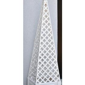 KHW Nachrüstsatz Obelisk zu Pflanzkasten quadratisch
