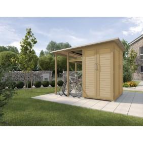 Weka Garten [Q] Erweiterung Model [Family] Fahrradunterstand