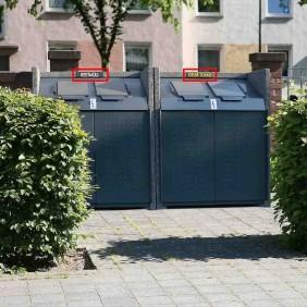 Paul Wolff Kennzeichnungsschilder für Mülltonnenboxen