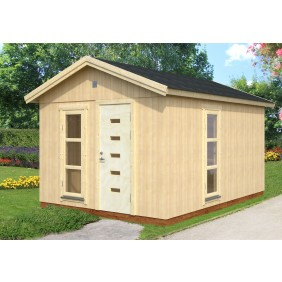 Palmako Nordic-Haus Ly 13,6 m² - 18+70 mm - Ambiente