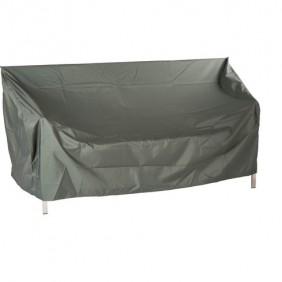 Stern Schutzhülle für 3-Sitzer Bank Dessin uni grau 180 x 55 x 80 cm