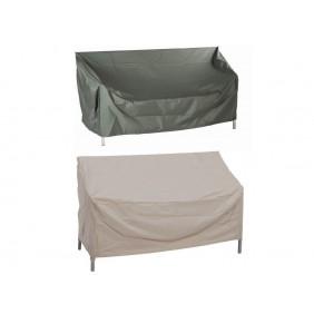 Stern Schutzhülle für 3-Sitzer Bank Dessin grau oder natur 180 x 55 x 80 cm