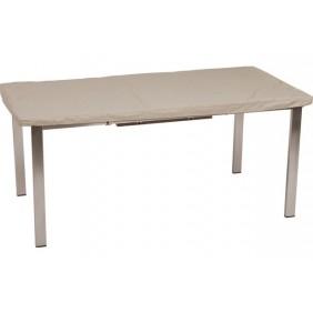 454956 Stern Schutzhülle für Tisch, Dessin natur Ø 135 cm