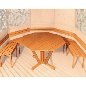 Weka Sitzgarnitur für Pavillon Sylt 1