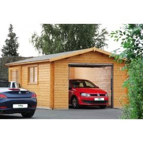 Wolff Finnhaus Garage 44-B - Holzgarage mit 1 Stellplatz
