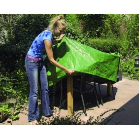 Nature Schutzhülle Rimini für Gartenmöbel eckige Gartentische