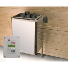 eka Technikpaket inkl. 9 kW Ofen, Anschlusskabel und Steuergerät für Saunahaus Naantali / Kuopio