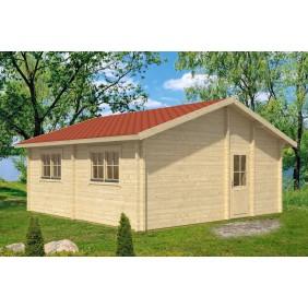 Skan Holz 70 mm Blockbohlenhaus Winnipeg 1