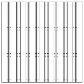 OSMO Multi-Fence Struktur 178x178 cm