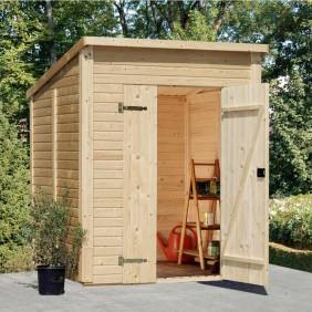 Palmako Gerätehaus Leif 3,1 m² FSC Mix 70% - Outdoor