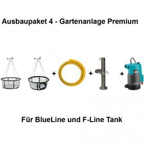 REWATEC Ausbaupaket 4 - Gartenanlage Premium