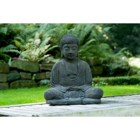 gartenselect Japan Buddha, Kunststein Antik