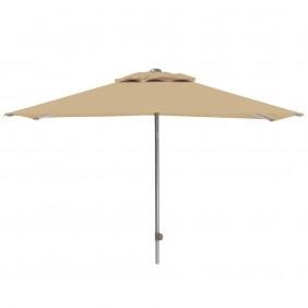 Kettler Push Schirm Easy 200 x 200 cm silber/natur