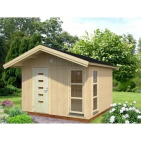 Palmako Nordic-Haus Ly 10,2 m² - 18+70 mm - naturbelassen