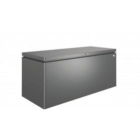 Biohort LoungeBox Geräteschrank - 200 x 84 x 88,5 cm (Größe 200) - dunkelgrau-metallic B-Ware