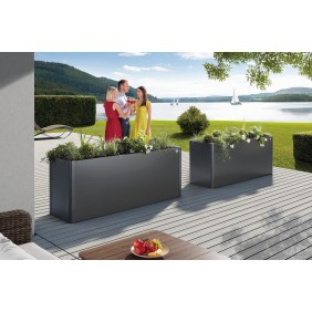 Biohort LoungeBox silber-metallic