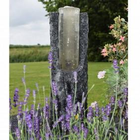 Ubbink Wasserspiel Gartenbrunnen Oviedo mit Granitsäule