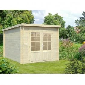 Palmako Gartenhaus Ella 6,9 m² - 28 mm - naturblelassen