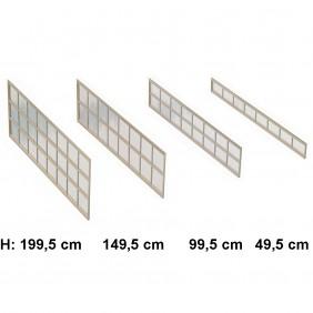 Ximax Seitenwand für Portoforte und Linea 491,2 cm
