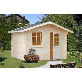 Palmako Gartenhaus Emma 4,6 m² - 28 mm - naturbelassen