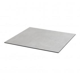Diamond Garden DiGa Compact Tischplatte 68cm Eckig mit 20° Fase Beton