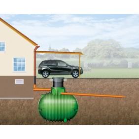 Graf Garantia Regenwassertank Columbus-Erdtank PKW-befahrbar