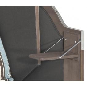 SunnySmart 2. Seitentisch klappbar für Modelle Rustikal 15 25 und 34 Z