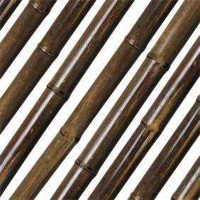 Noor Bambusrohr Teak 180 cm lang in zwei Durchmessern