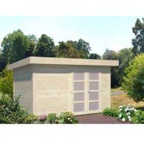 Palmako Gartenhaus Lara 8,4 m² - 28 mm - naturbelassen