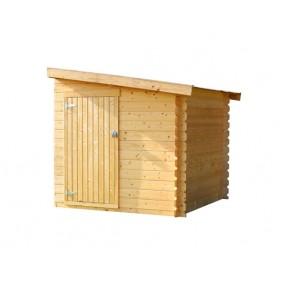Skan Holz Anbauschuppen groß
