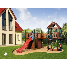 Weka Kinderspielgerät Spielturm Pinto 1