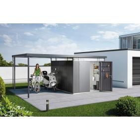 Biohort Seitendach zu Gerätehaus HighLine (Einzel- und Doppeltür)