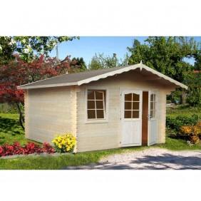Palmako Gartenhaus Emma 10,4 m² - 34 mm - naturbelassen