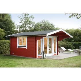 Wolff Finnhaus Gartenhaus Hammerfest 70-A isolierverglast XL