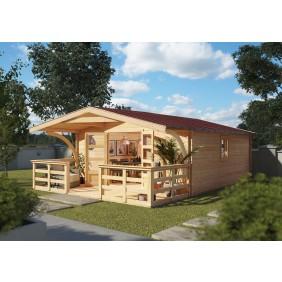 Karibu Woodfeeling Gartenhaus Felsenau
