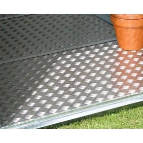 Alu-Bodenplatte für Biohort Gerätehaus HighLine Gartenhaus Metall