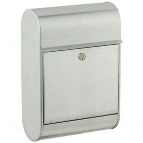 ALLUX 8900 Design Briefkasten - Verzinkter Stahl