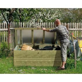 Weka 19 mm Garten- und Terrassentruhe in Elementbauweise