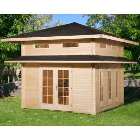 gartenhaus versch dachformen mein. Black Bedroom Furniture Sets. Home Design Ideas
