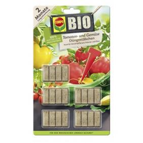 COMPO BIO Tomaten- und Gemüse Düngestäbchen (20 Stäbchen)