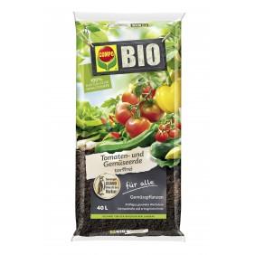 COMPO BIO Tomaten- und Gemüseerde torffrei 40 L