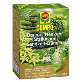COMPO Bäume, Hecken, Sträucher Langzeit-Dünger 2 kg