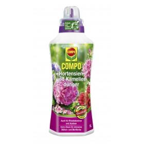 COMPO Hortensien-, Azaleen-, Kamelien-, Rhododendrondünger 1 l