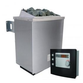 Karibu 9 kW Saunaofen inkl. Steuergerät Modern - Sparset