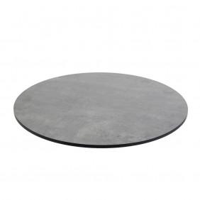 Diamond Garden DiGa Compact Tischplatte 68cm Rund Beton Dunkel