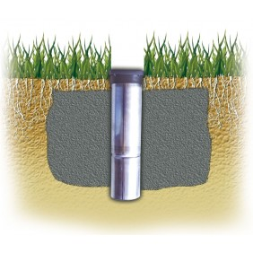 Juwel Bodenhülse Alu für Wäschespinne 55 mm