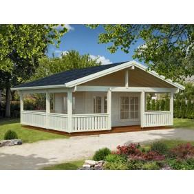 Palmako Ferienhaus Agneta 18,8+28,8 m² - naturbelassen