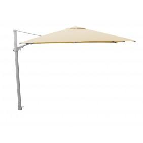 Kettler Ampelschirm 300x300 cm inkl. Abdeckung silber/natur ohne Ständer - Restposten